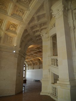 Architecture, Royal Castle, Chambord, François 1er