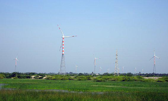 Wind Mill, Power, Turbine, Windmill, Electricity