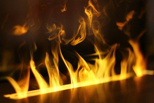 Fire, Flame Heat, Burn, Oven, Hot, Fireplace