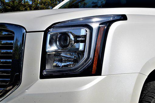 Gmc Yukon, Headlamp, Headlight, Sports Utility Vehicle