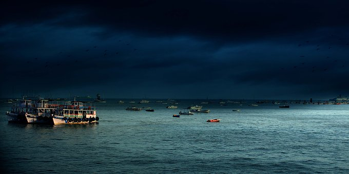 India, Mumbai, Bombay, Tourism, Attraction, Sea