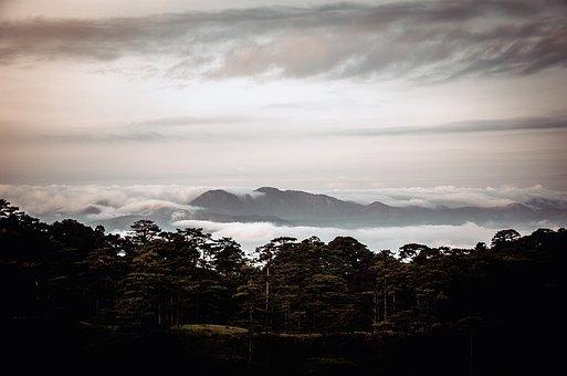 Mountain, Sky, Cloud, Travel, Nature, Landscape, Blue