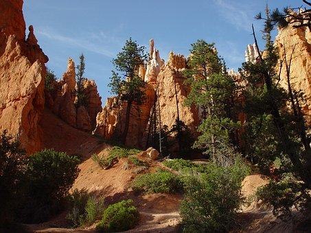 Canyon, West, Landscape, Travel, Desert, Rock, Utah