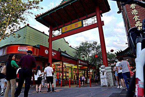 Chinatown, Welcome Gate, Noisy, Culture, Gate, Oriental