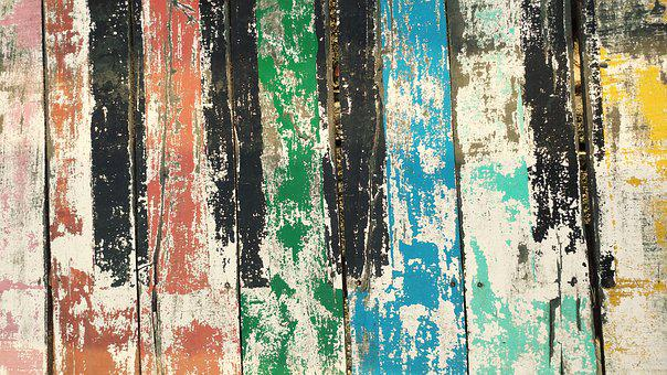Board, Plank, Wood Wall, Dirty, Rusty, Old Paint