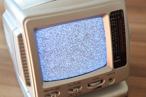 Tv, Crt Tube Tv, Image Noise, Cult, Retro, Analog, Rca