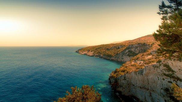 Zakynthos, Greece, Sea, An Island, Summer, Panorama