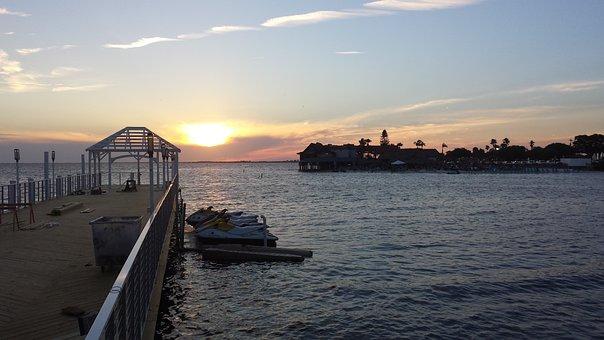 Sunset, Florida, Water