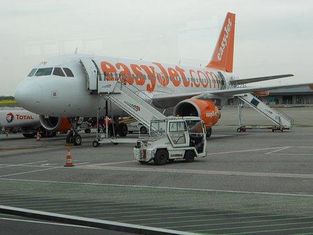 Aircraft, Airport, Taxiway, Supply