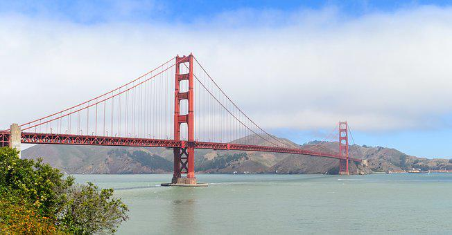 Golden Gate Bridge, San Francisco, Suspension Bridge