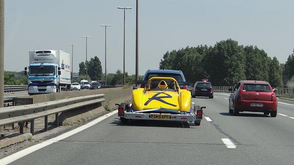 Road, Highway, Transport, Motion, Cars, Track, Asphalt