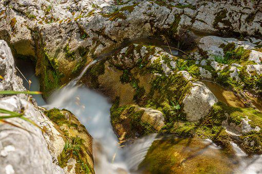 River, Longexposure, Waterfall, Water, Switzerland