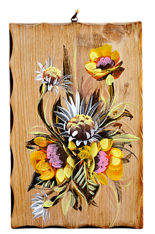 Image, Wood Picture, Painting, Art, Painted, Wood, Deco