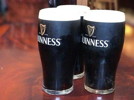 Beer, Guinness, Glass, Pint, Pub, Bar, Alcohol, Dark