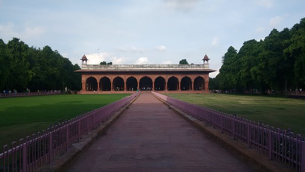 Red Fort, Diwan-i-aam, Monuments, Delhi, Lal Qila