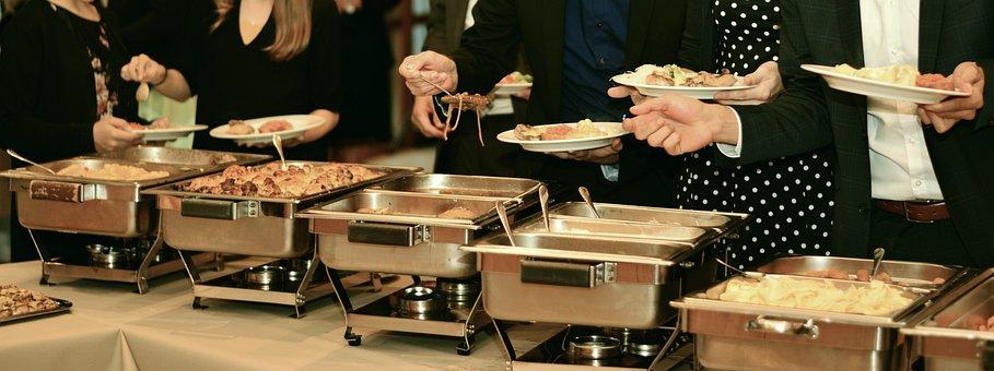 Gastronomy, Buffet, Chafing Dish, Eat, Celebration