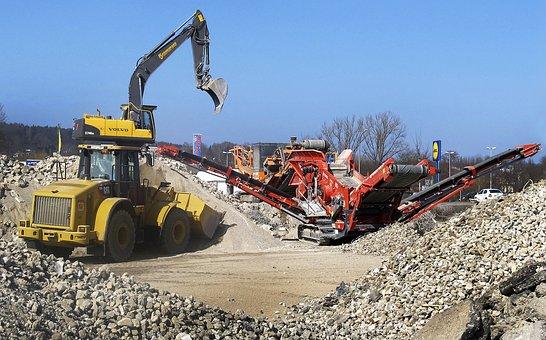 Wheel Loader, Excavators, Sorting Grapple