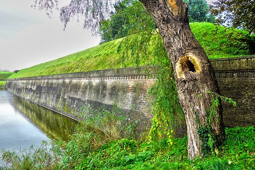 Fortress, Fortification, Fort, Moat, Heritage, Ancient