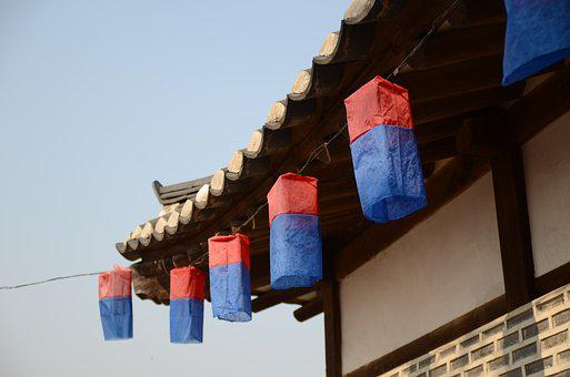 Gyeongbok Palace, Namsan Hanok Village, Angel Lanterns
