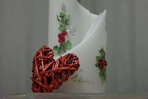 Heart, Candle, Love, Before, Wedding Day, Romantic