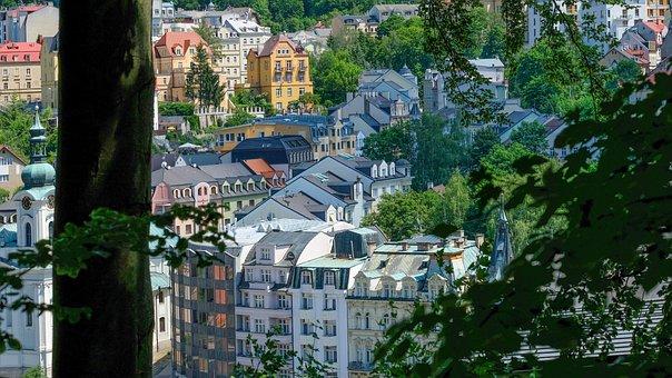 Karlovy Vary, Karlovy-vary, Spa, Idyll, Historically