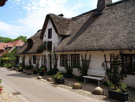 Home, Reed, Roof, Thatched Roof, Thatched, Mecklenburg