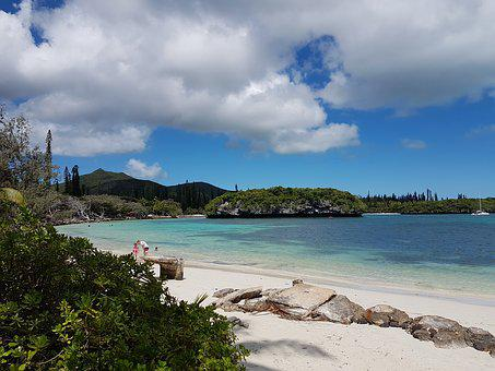 Isle-of-pines, South Pacific, Island