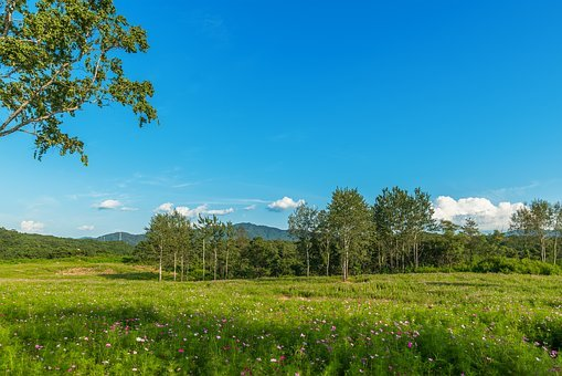 Korea, Gangwon Do, Iron Garden, Ranch, Sky, Cloud
