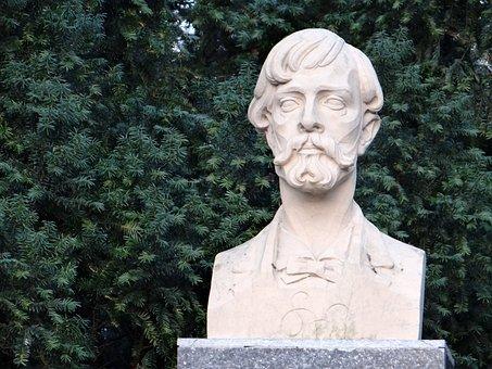 Stanislav Wyspianski, Bust, Monument, Composer, Figure