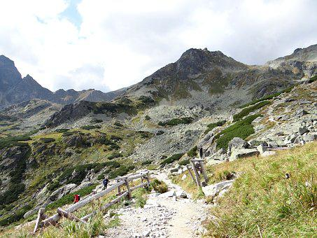 The High Tatras, Road To Scratch, Hiking Trail, Rocks