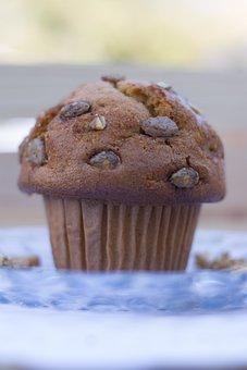 Muffin, Food, Bakery, Breakfast, Bake, Snack, Treat