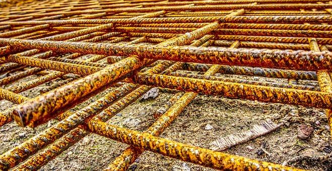 Iron Railings, Grid, Mat, Steel Mesh, Steel, Steel Mat