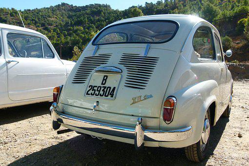 Seat 600, Six Hundred, Back, Vintage, Seat, 60's