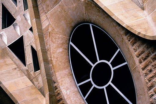 Architecture, Art, Artistic, Barcelona, Basilica, Black