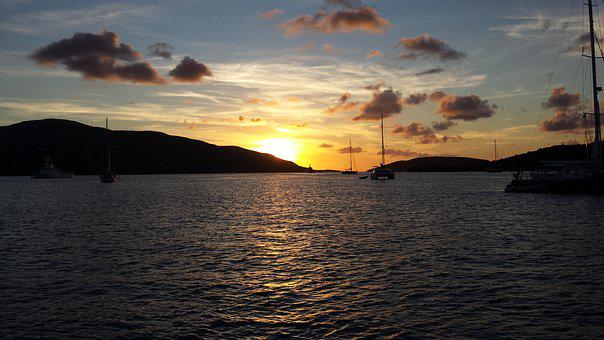 Bvi, British Virgin Islands, Sailing, Caribbean, Ocean