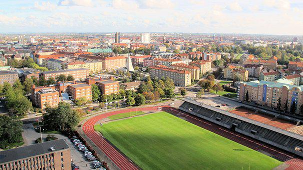 Malmö, Sweden, Skåne, Swedish, Skandinavia, Building