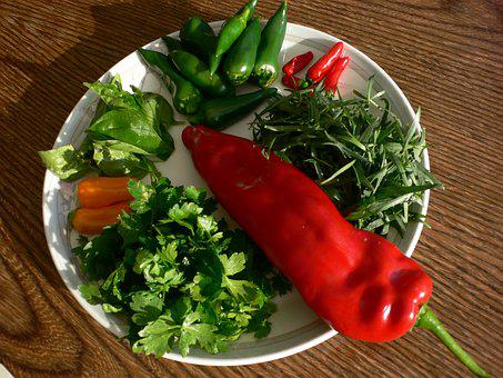 Pepper, Chili, Spicy, Flavoring