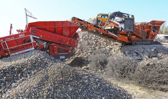 Building Rubble, Crash, Crusher, Demolition
