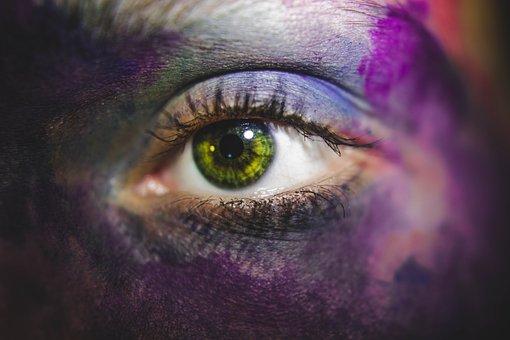Eye, Macro, Human, Close, Iris, Eyelashes, See