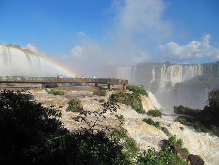 Foz Do Iguaçu, Cataracts, The Iguaçu River, Water Falls