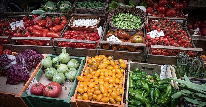 Vegetable, Fresh, Market, Fresh Vegetables, Green