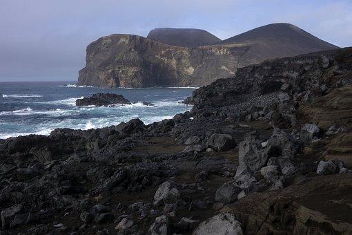 Volcano, Azores, Island, Travel, Tourism, Holiday