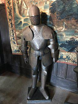 Knight's Castle, Armor, Knight, Middle Ages, Castle