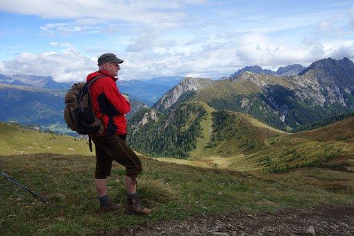 Hiking, Lothar Hirsch, Lienz Dolomites