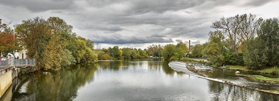 Panorama, Neckar, Baden Württemberg, Germany, Outlook