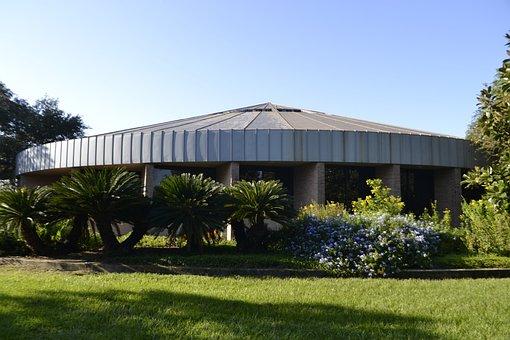 Observatory, National Park, Foliage, Oval, Dome, Park