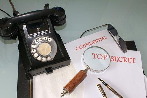 Communication, Telephone, Phone, Espionage, Spying