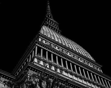 Torino, Piemonte, Italy, The National Museum Of Cinema