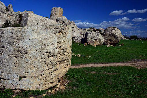 Greek, Ruin, Places Of Interest, Ancient Times