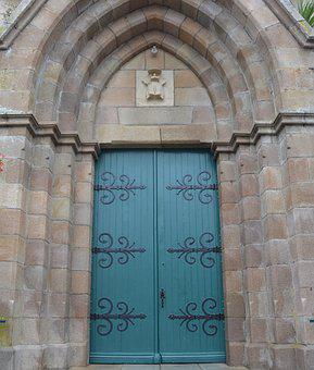 Portal Church, Cathedral, Green Door Wood, Architecture